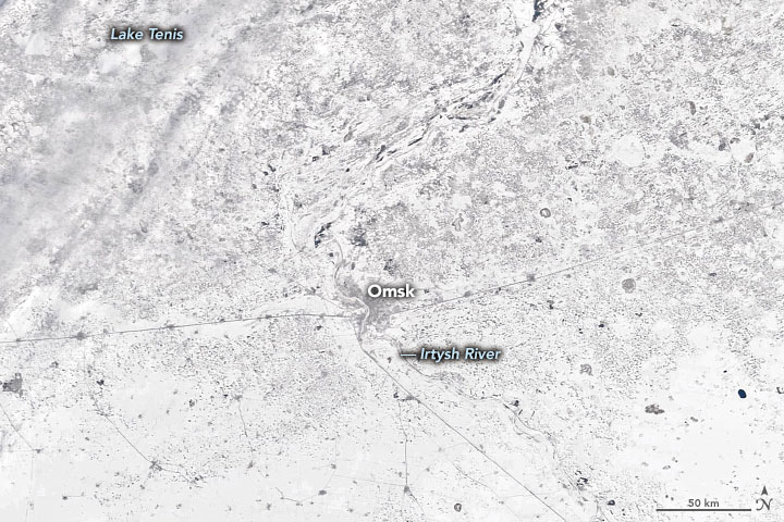 Omsk Shakes off Winter Frost