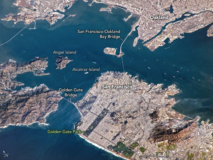 A Clear Day Over San Francisco Bay - related image preview