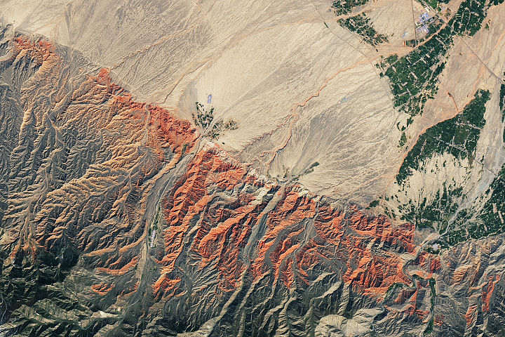 China's Red Rocks and Rainbow Ridges - selected image