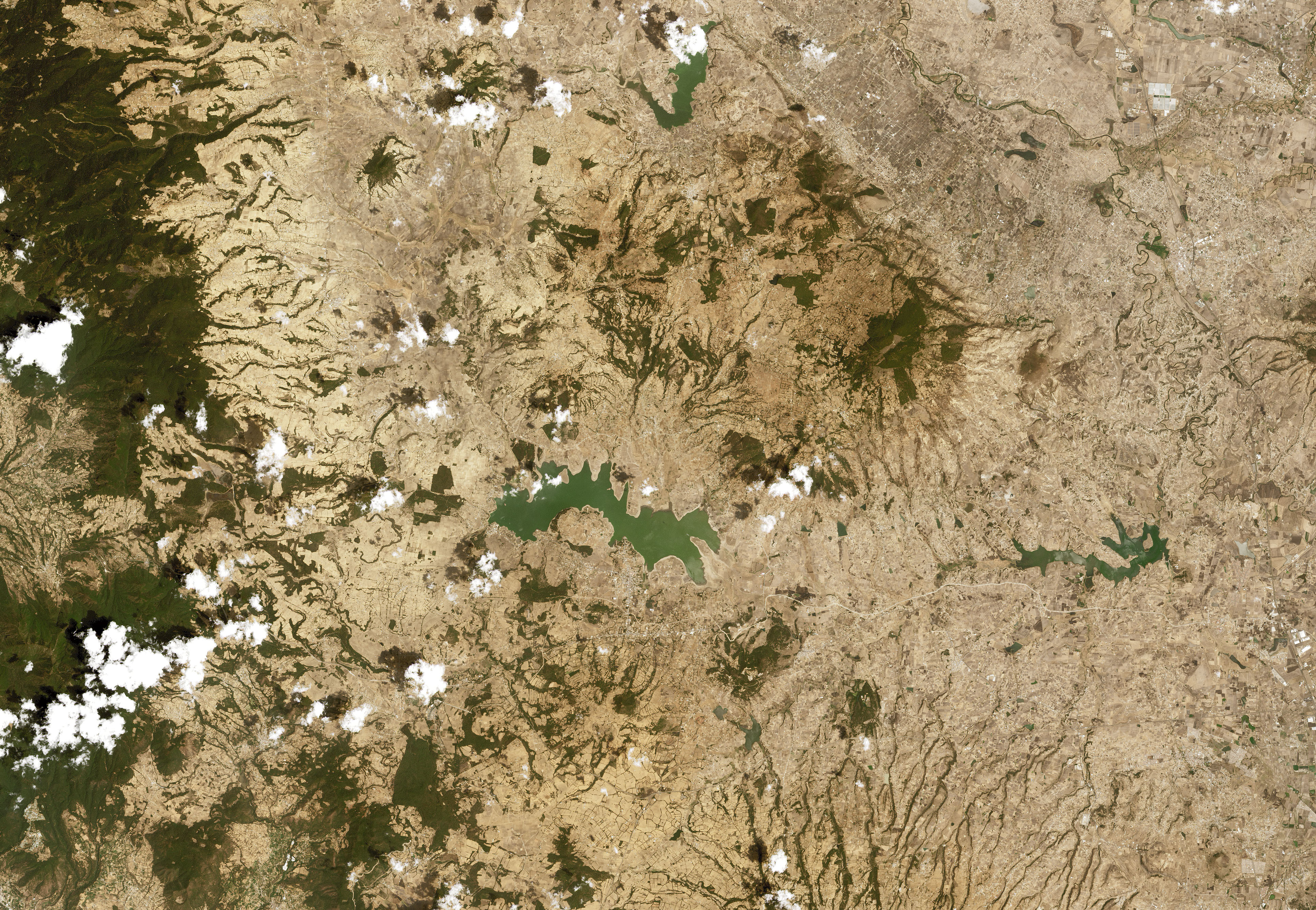 Widespread Drought in Mexico - related image preview