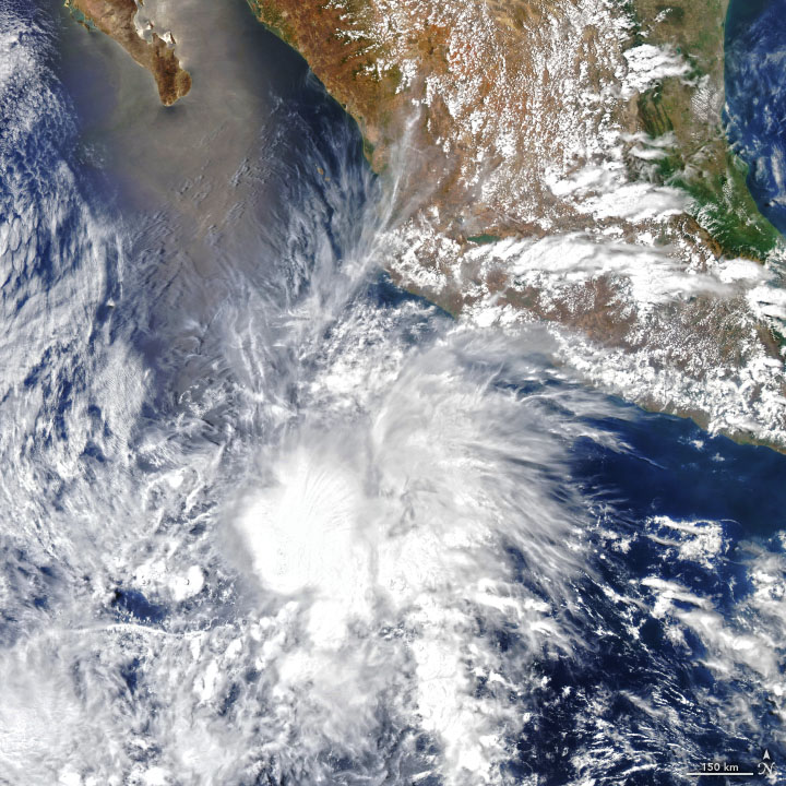 Early Storm in the Eastern Pacific - related image preview