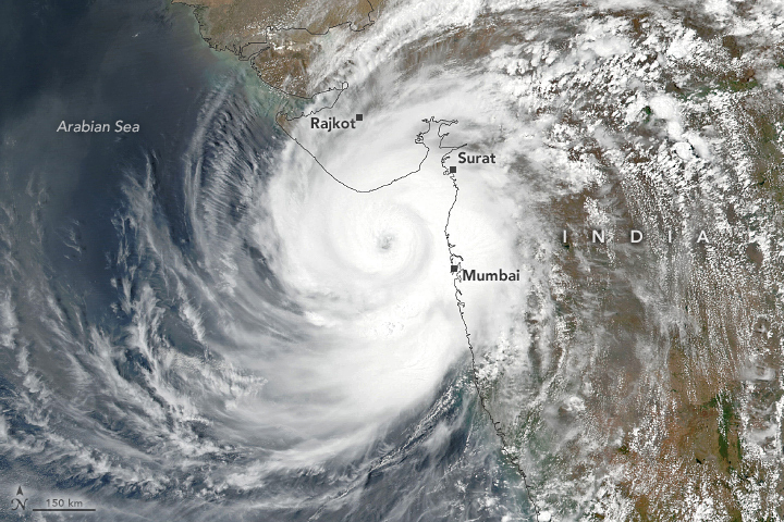 Cyclone Tauktae Strikes India - related image preview