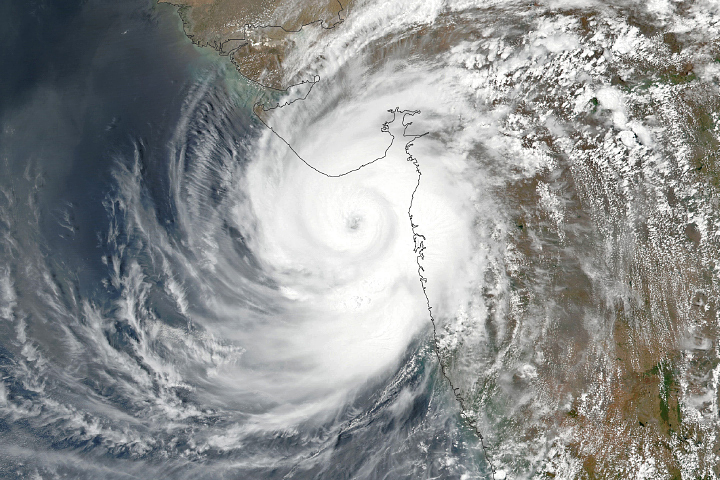 Cyclone Tauktae Strikes India