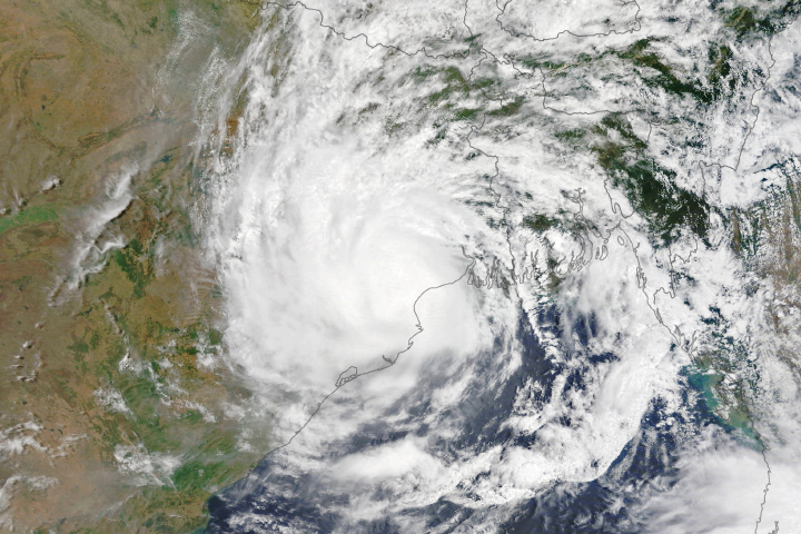 Cyclone Yaas Swamps India and Bangladesh