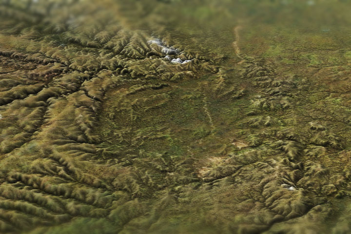 Russia's Crater of Diamonds