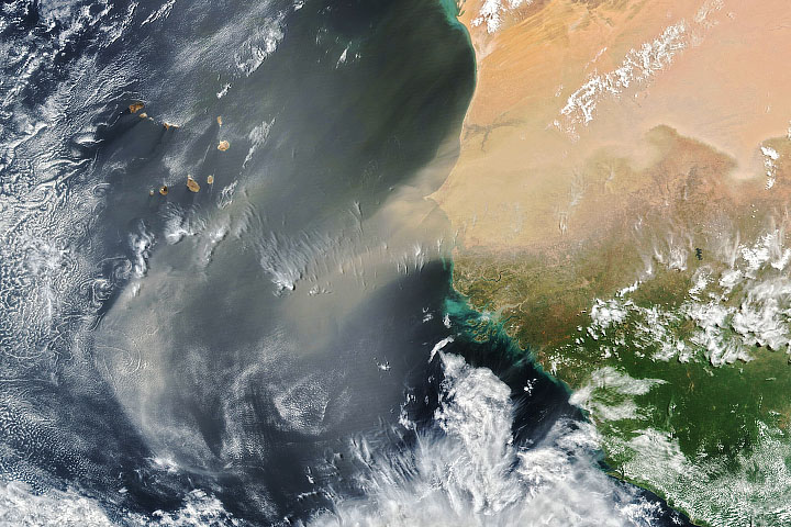 Africa Sheds Some Dust