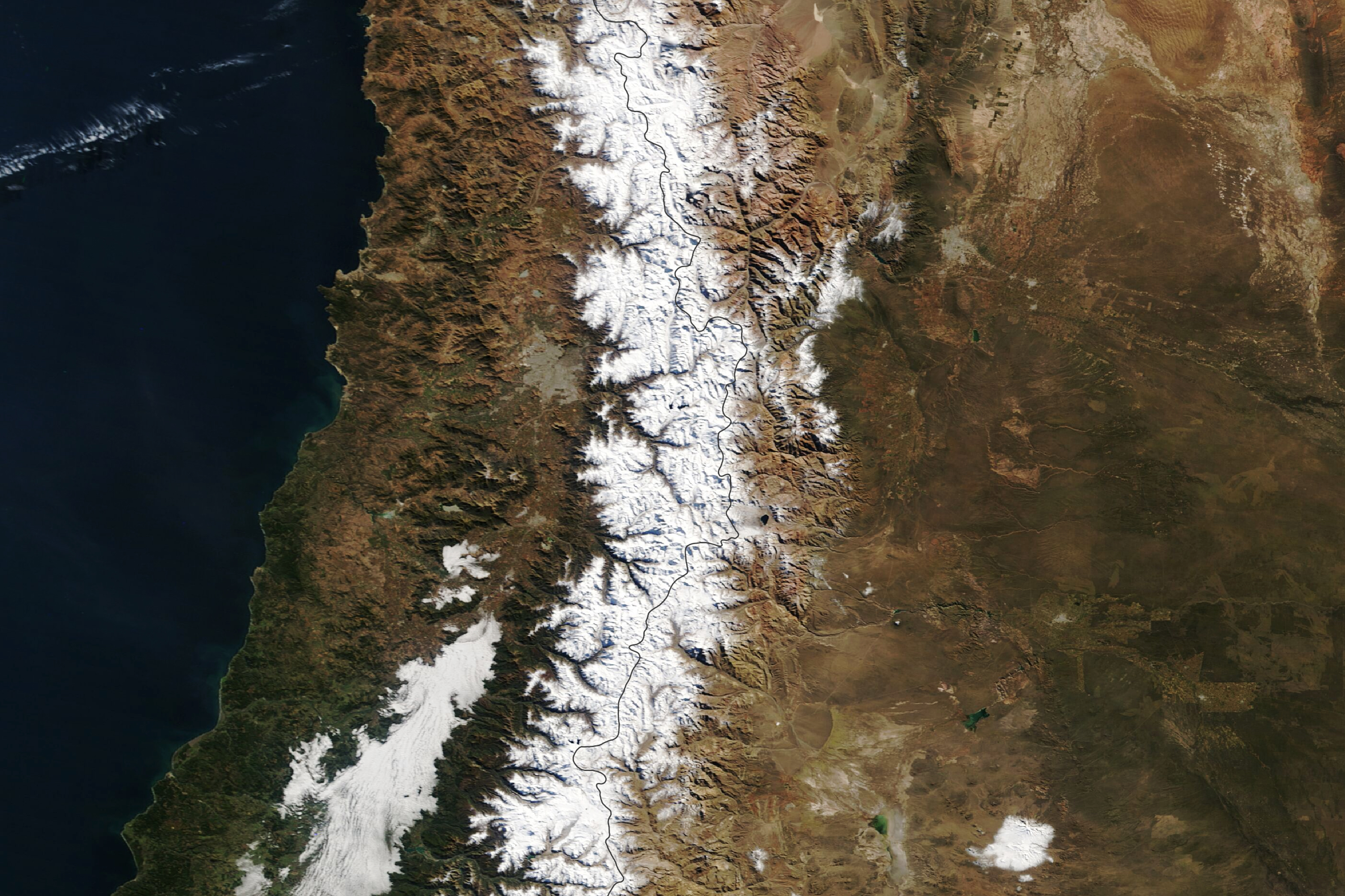 Dual Storms in the Andes Mountains - related image preview