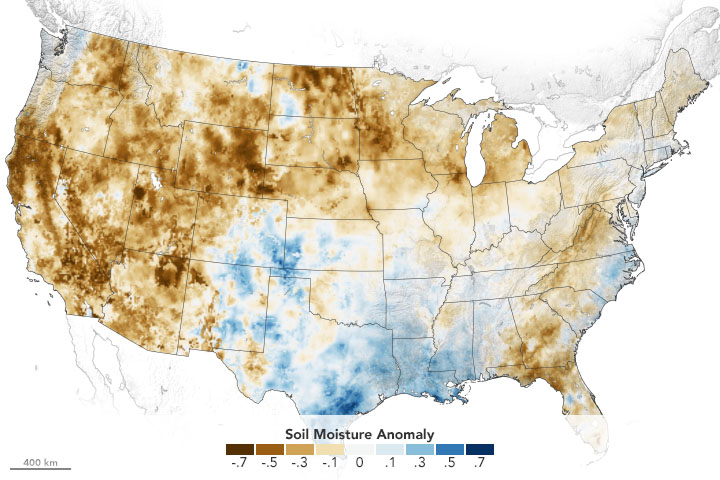 Western Soils and Plants are Parched - related image preview