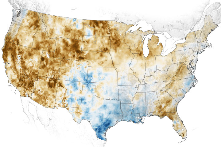Western Soils and Plants are Parched - selected image