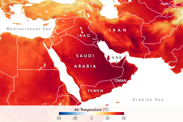 Heatwave Scorches the Middle East - related image preview