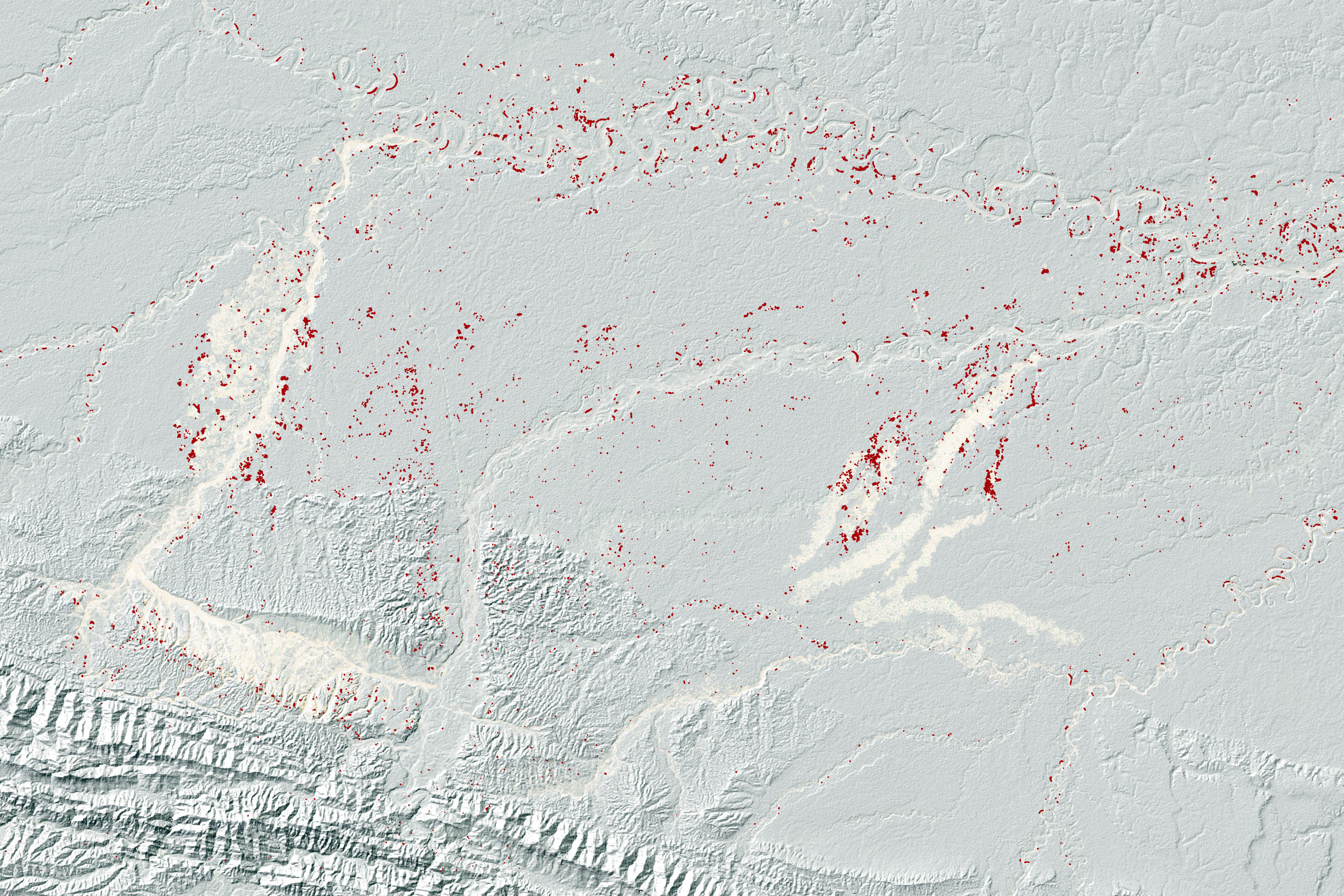 Finding Gold Mining Hotspots in Peru - related image preview