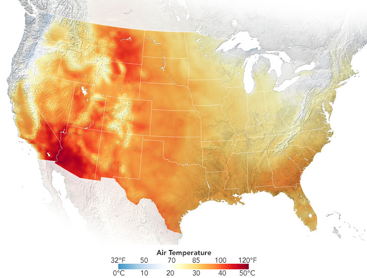 Records Fall in Early Summer Heatwave - related image preview