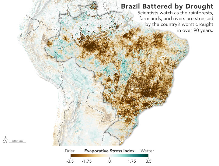 Brazil Battered by Drought - related image preview