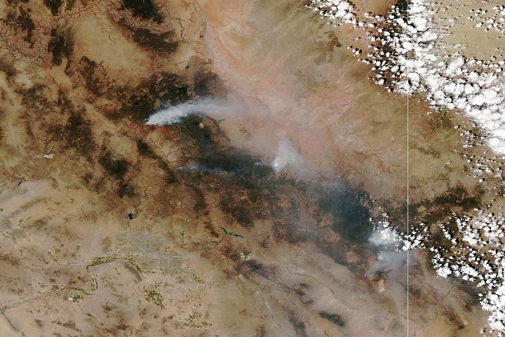 Fires Rage in Arizona