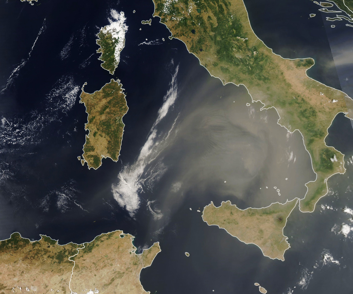 African Dust Visits Europe - related image preview