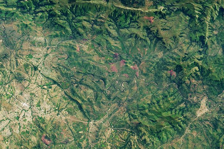 The Ancient Barberton Makhonjwa Mountains
