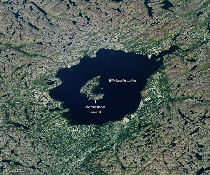 Violent Formation for Mistastin Lake