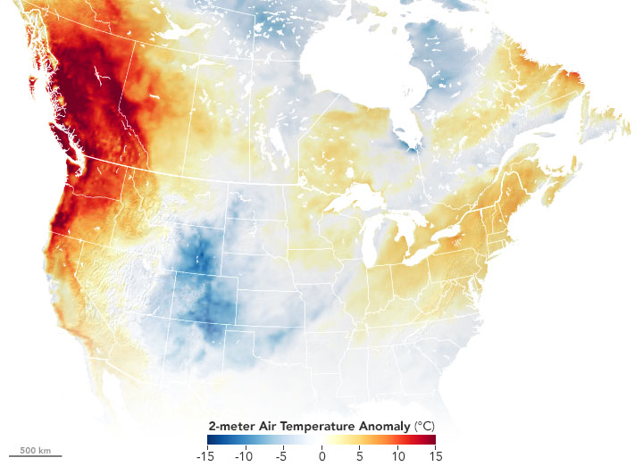 Exceptional Heat Hits Pacific Northwest - related image preview