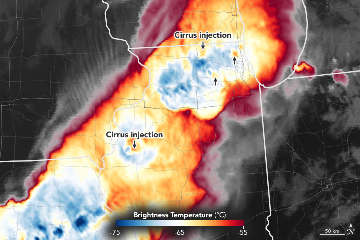 A Cirrus Sign of Tornadoes - related image preview