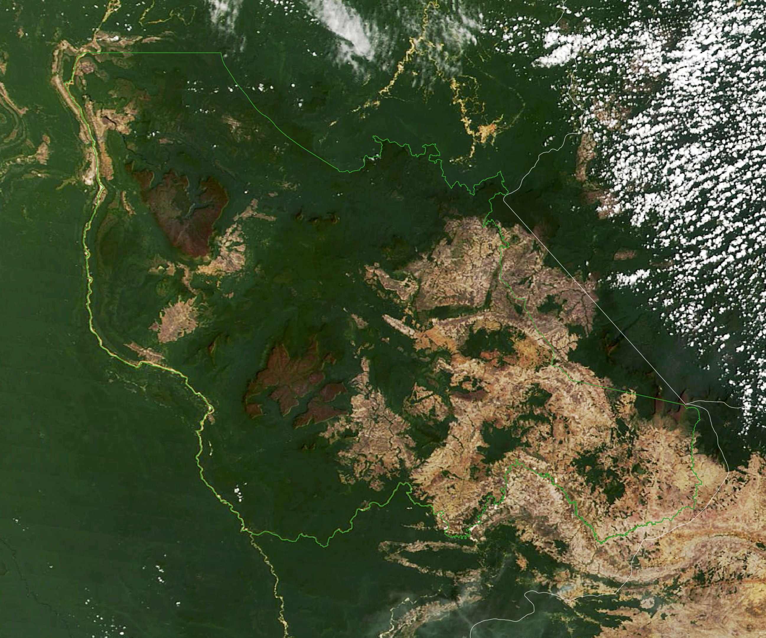 Venezuela's Flat-Topped Mountains - related image preview
