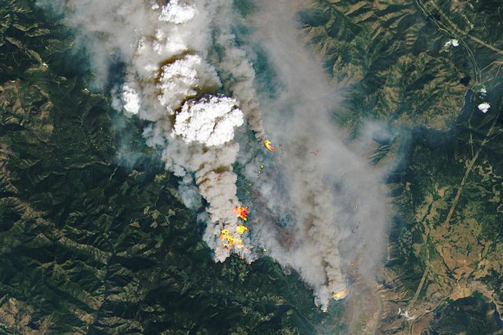 Blazes Rage in British Columbia - selected image