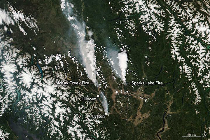 Blazes Rage in British Columbia - related image preview