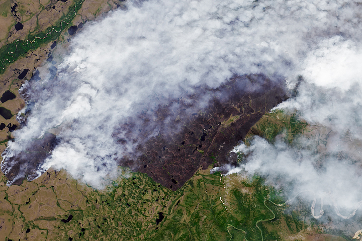 Fires Scorch the Sakha Republic - selected image