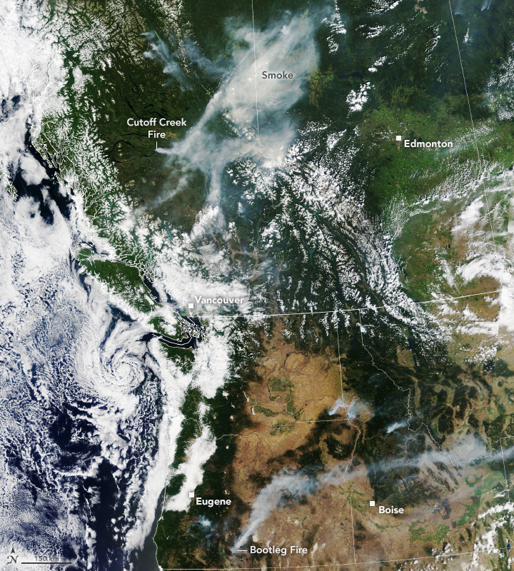 Smoky Summer in the Pacific Northwest - related image preview