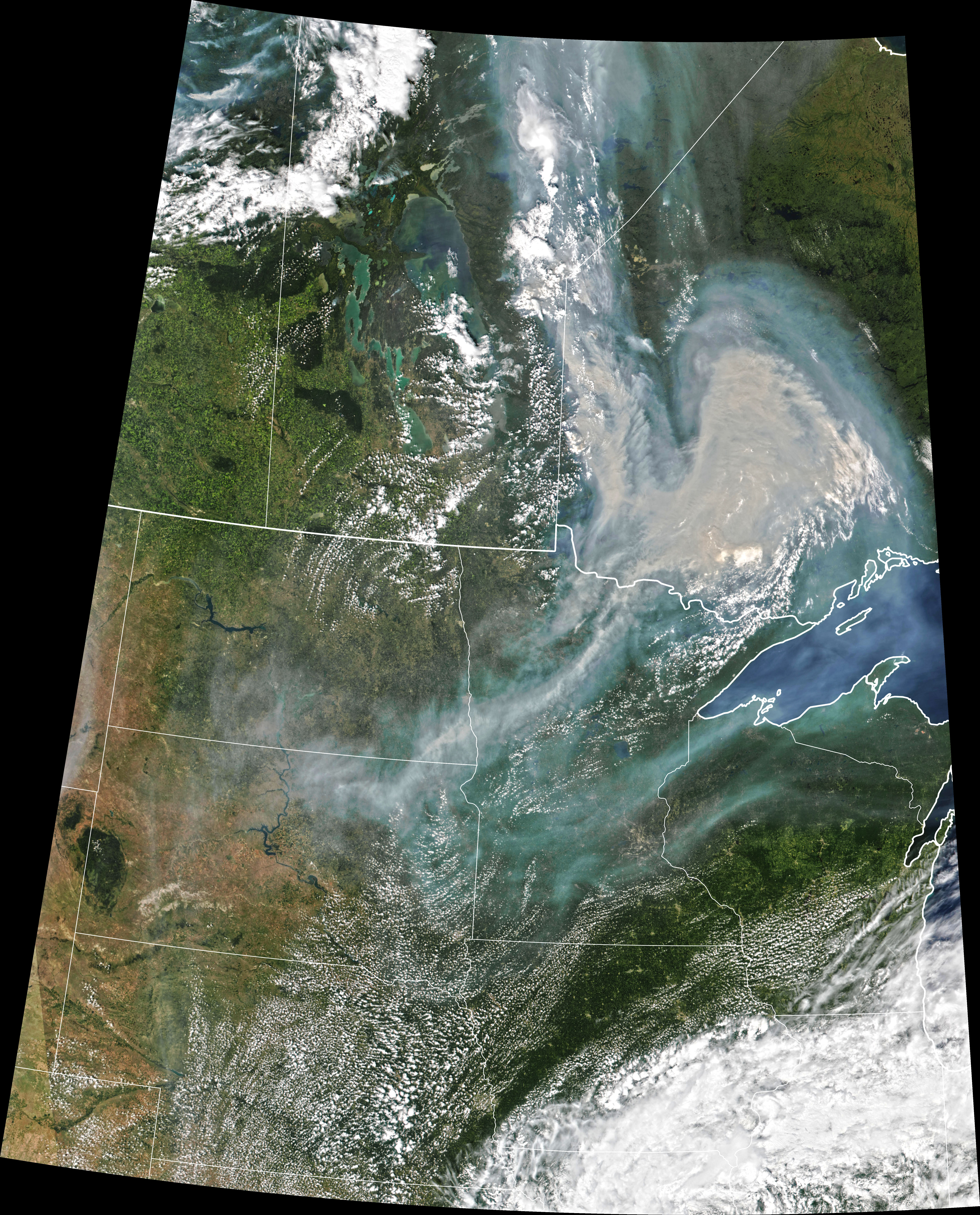 Hazy Skies in the Midwest - related image preview