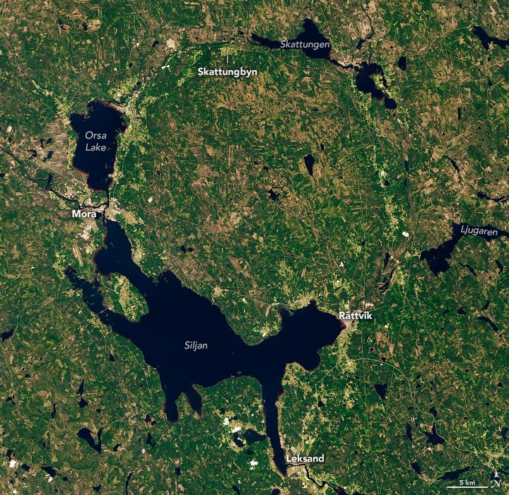 Sweden's Siljan Ring