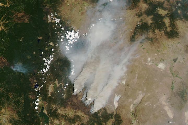 Oregon Smothered with Smoke - selected image