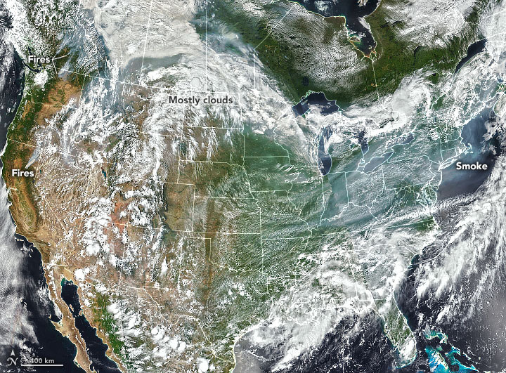 Smoke Across North America - related image preview