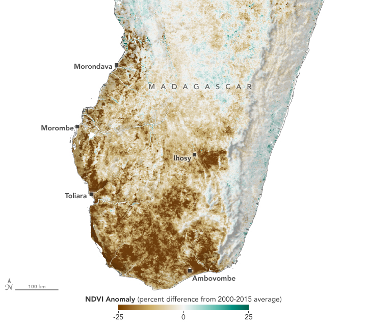 Drought in Madagascar - related image preview