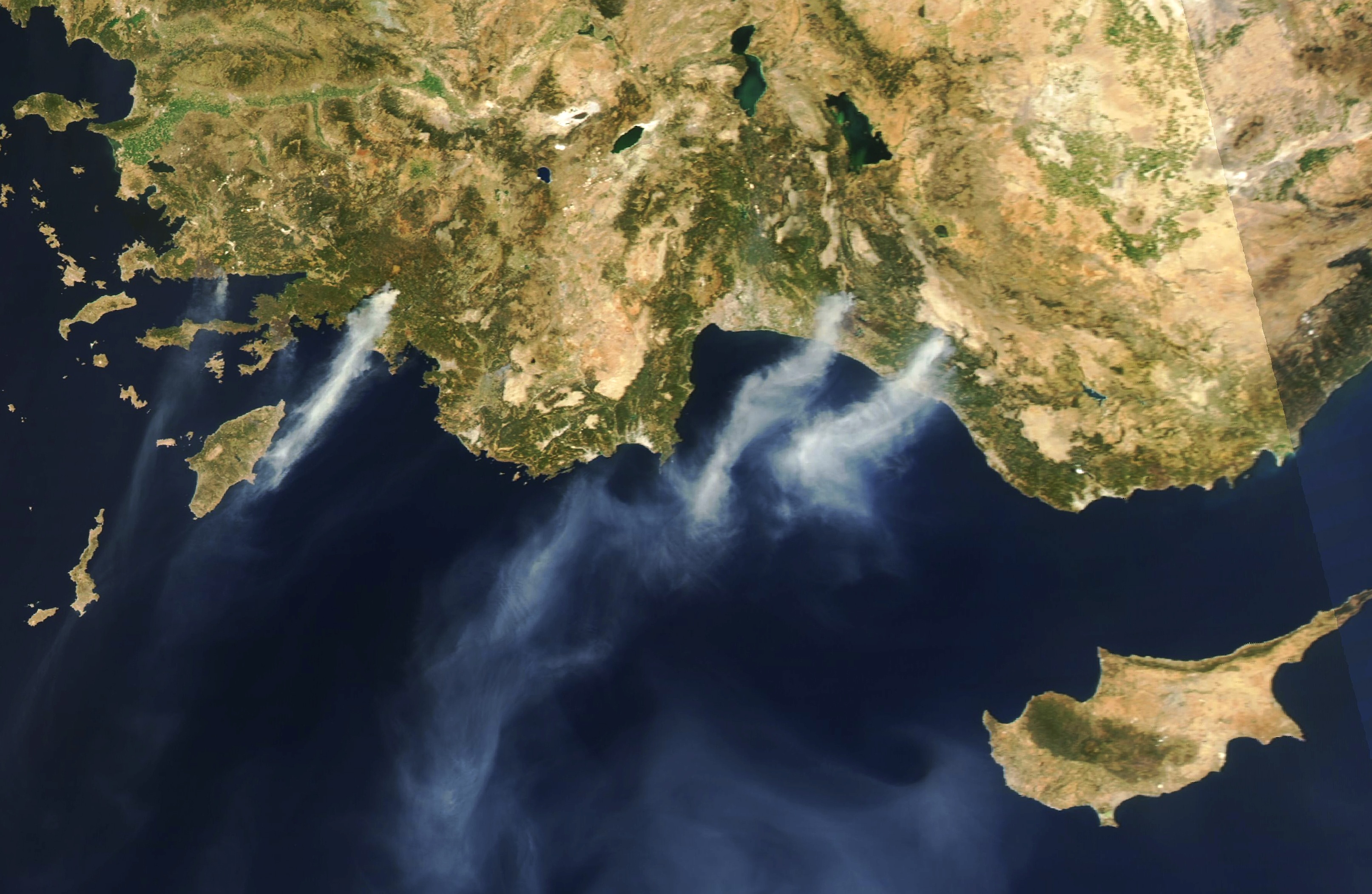 Fires Rage in Turkey - related image preview