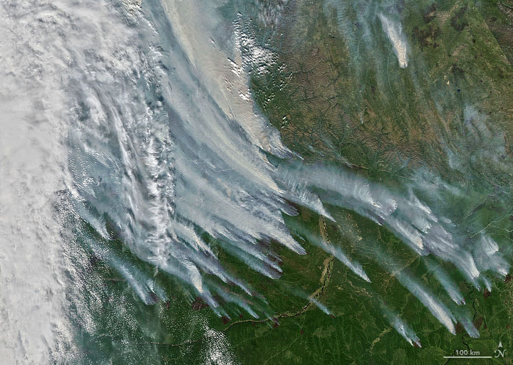 An Unusually Smoky Fire Season in Sakha - related image preview