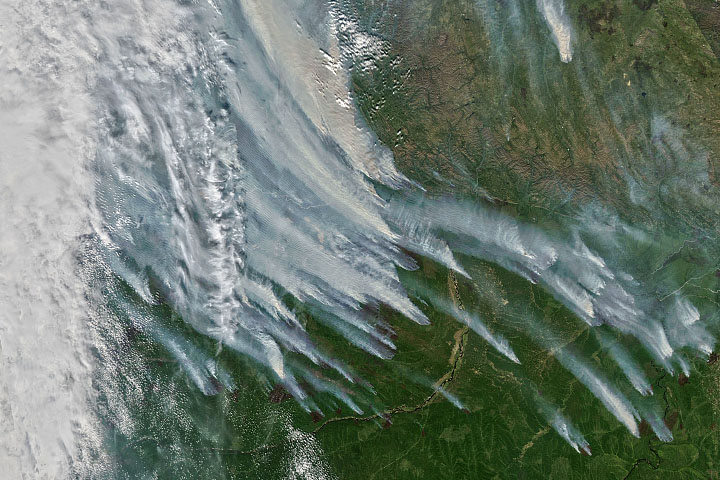 An Unusually Smoky Fire Season in Sakha - selected image