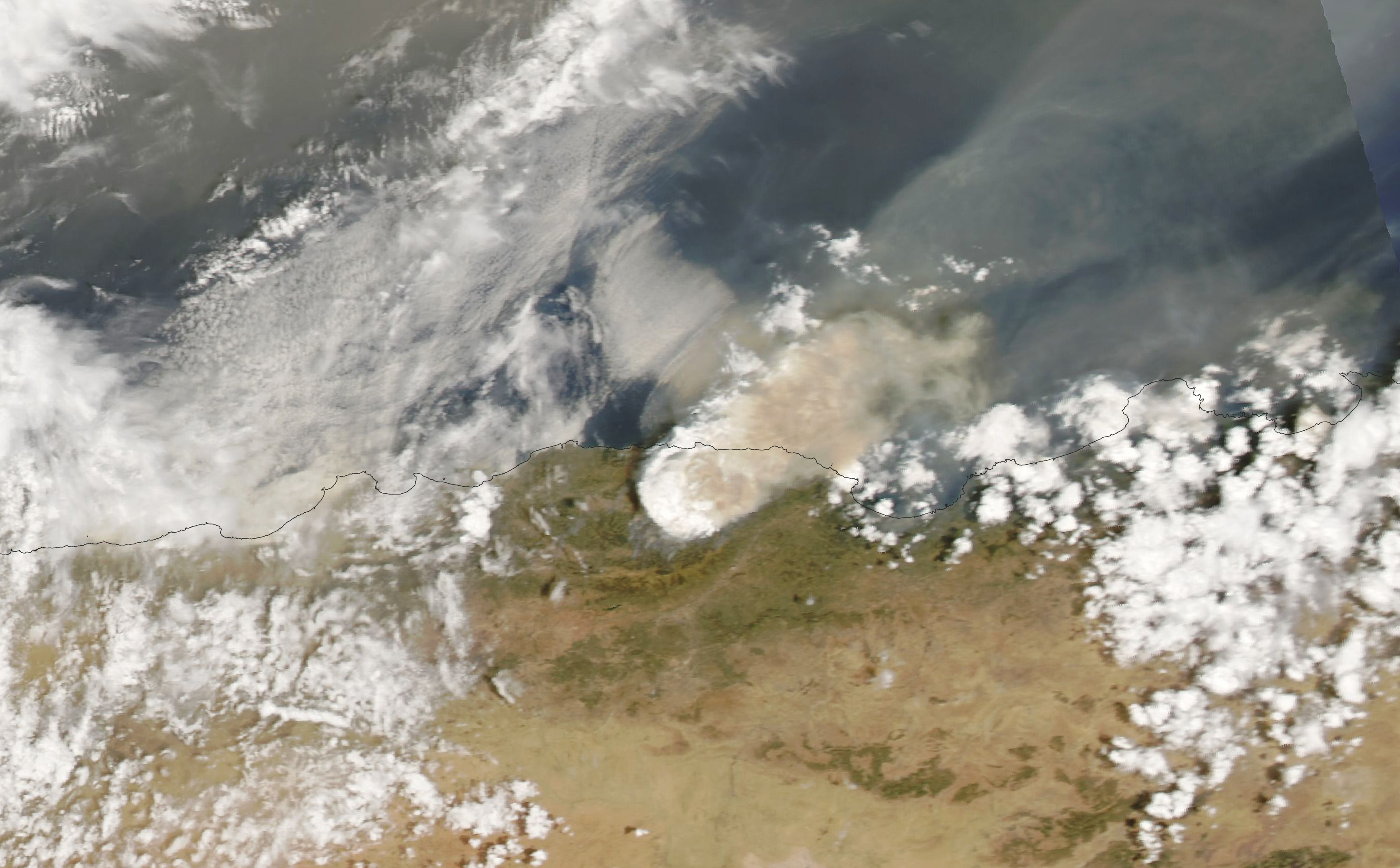 Fire Outbreak in Algeria - related image preview