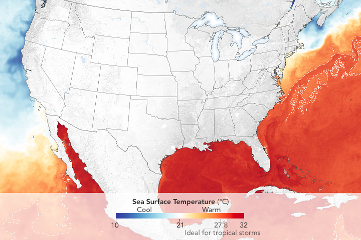 Oceans Primed for Peak of Hurricane Season - related image preview