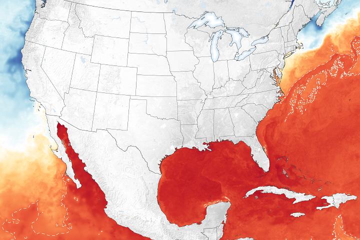 Oceans Primed for Peak of Hurricane Season