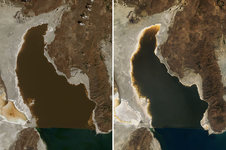 Record Low for Great Salt Lake - selected image