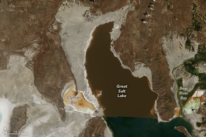 Record Low for Great Salt Lake