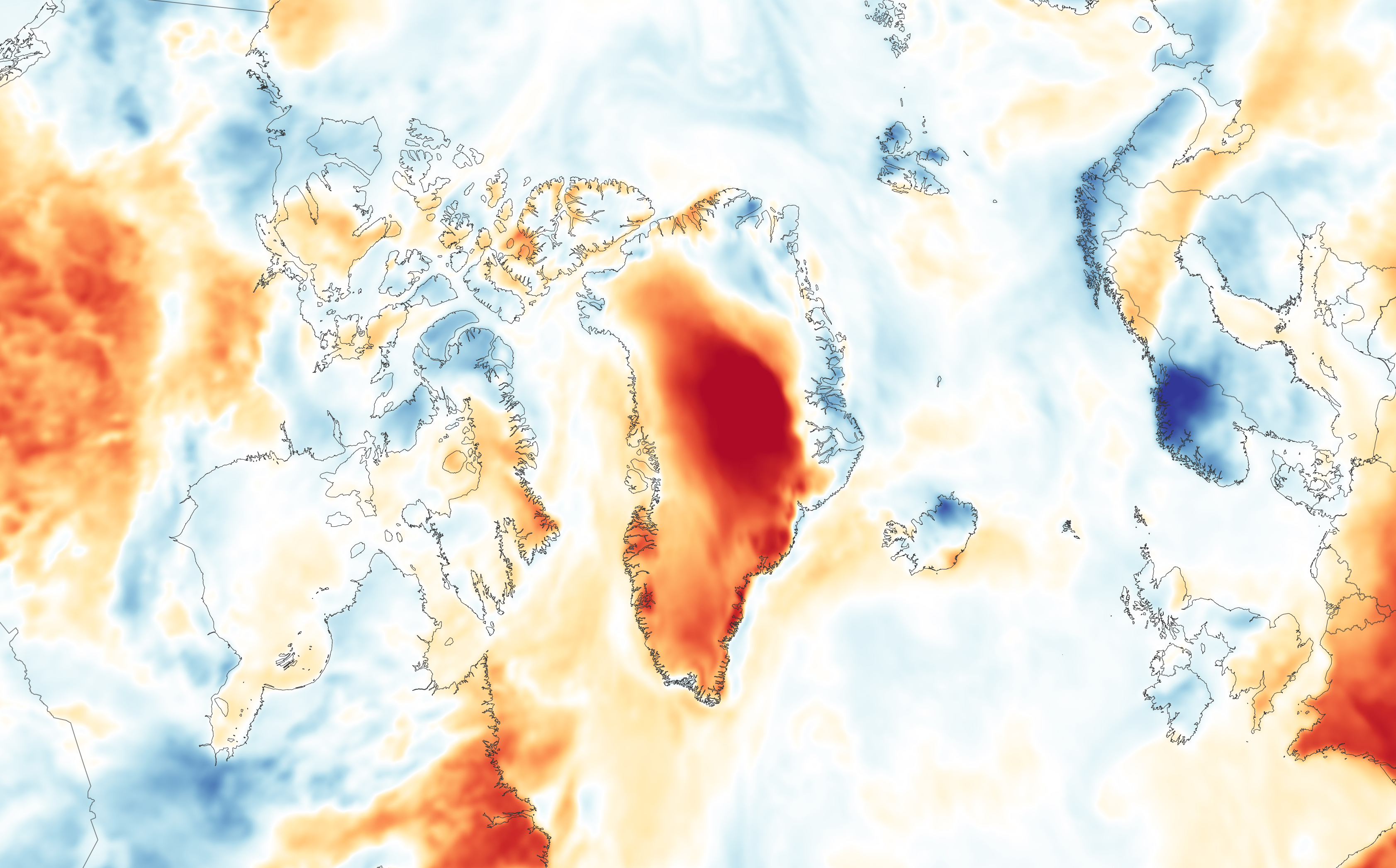 Rain and Warmth Trigger More Melting in Greenland - related image preview