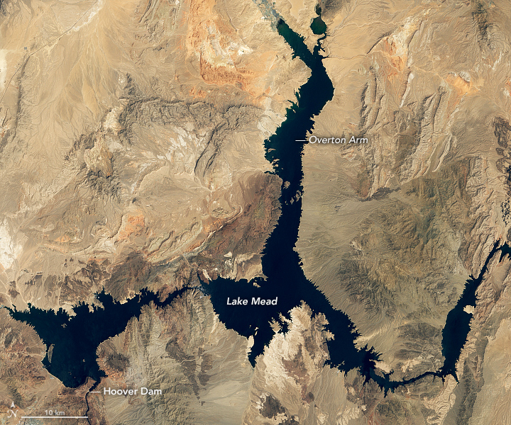 Lake Mead Drops to a Record Low - related image preview