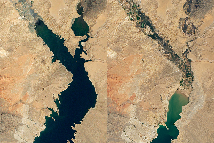 Lake Mead Drops to a Record Low - selected image