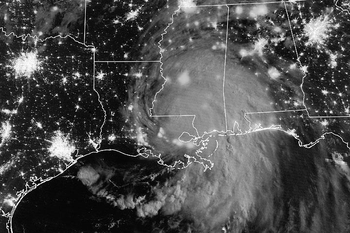 Hurricane Ida Batters Louisiana