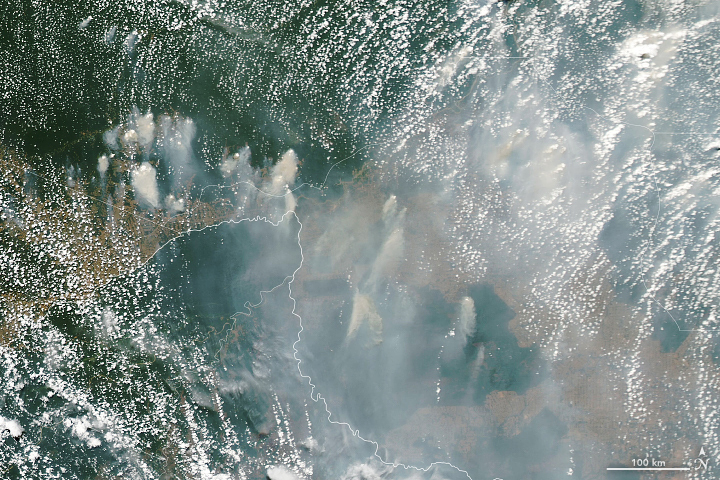 Smoky Skies in the Western Amazon - related image preview