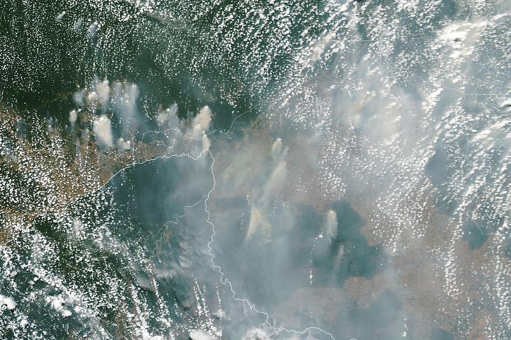 Smoky Skies in the Western Amazon