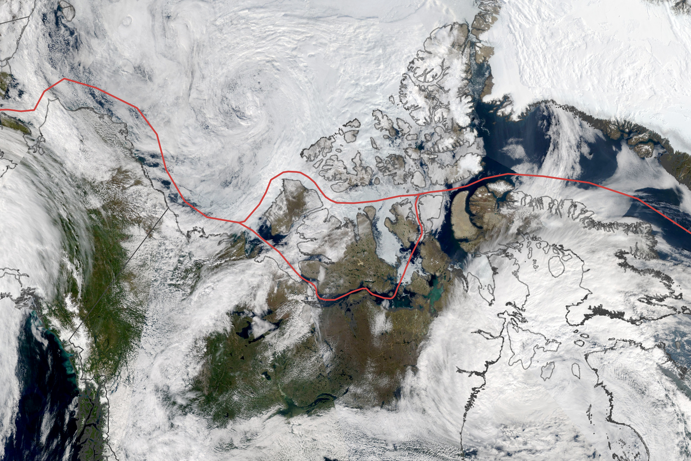 Ice Persists in the Northwest Passage - related image preview