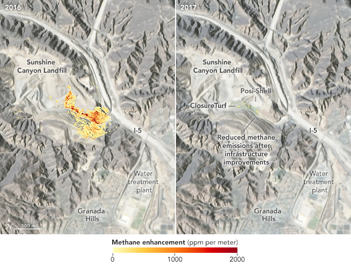 Mapping Methane Emissions in California