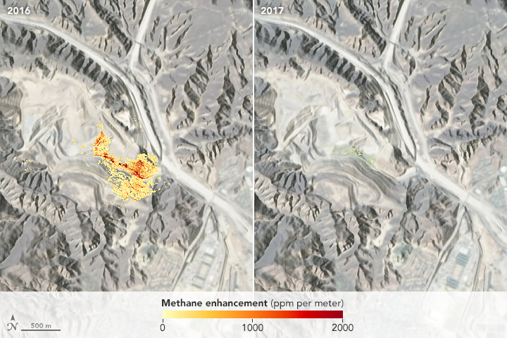 Mapping Methane Emissions in California - related image preview